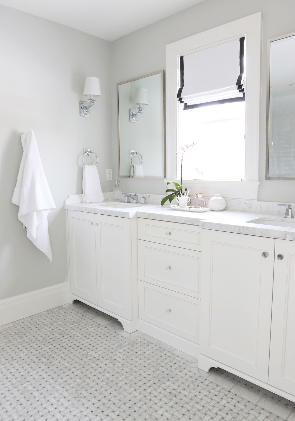Paint color is benjamin moore moonshine another great and versatile color stunning design from studio mcgee
