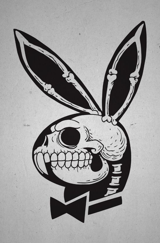 Playbone, playboy #tattoossketch #sketch #design #tattoodesign