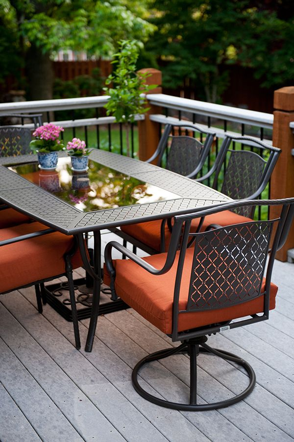 Patio Decorating Ideas: A Modern Chic Patio Refresh - The ... on Home Depot Patio Ideas id=45742