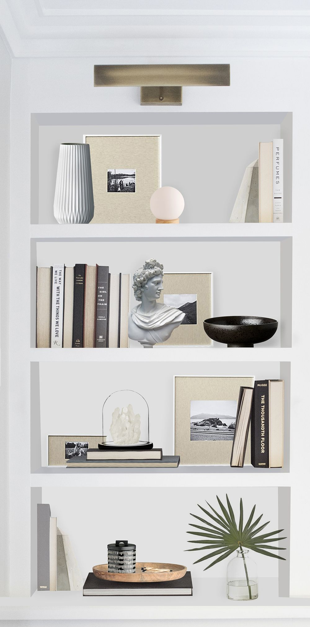 Shelfie Neutral & Sophisticated  Room For Tuesday