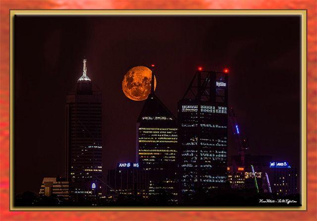 Perth Fire Moon