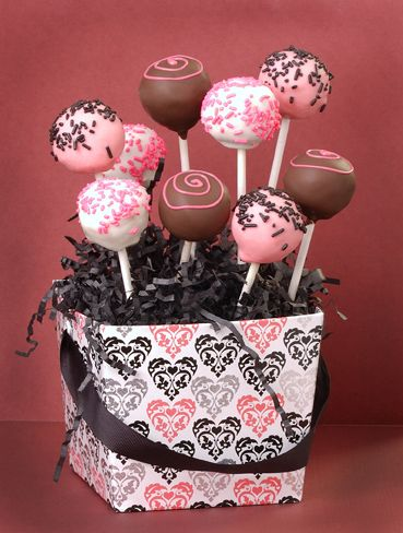 Valentine S Day Orders With Images Cake Pop Displays