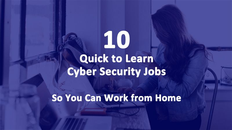 Quick to Learn Online Jobs So You Can Work from Home