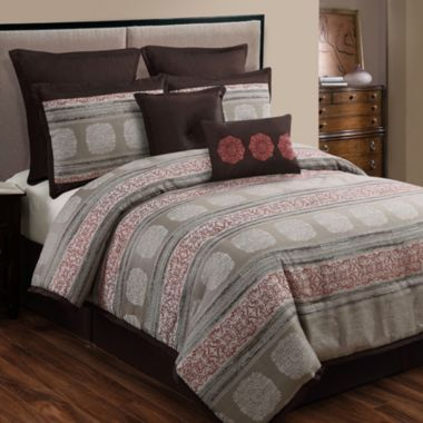 Pauline 8-pc. Jacquard Comforter Set found at @JCPenney | Home ...