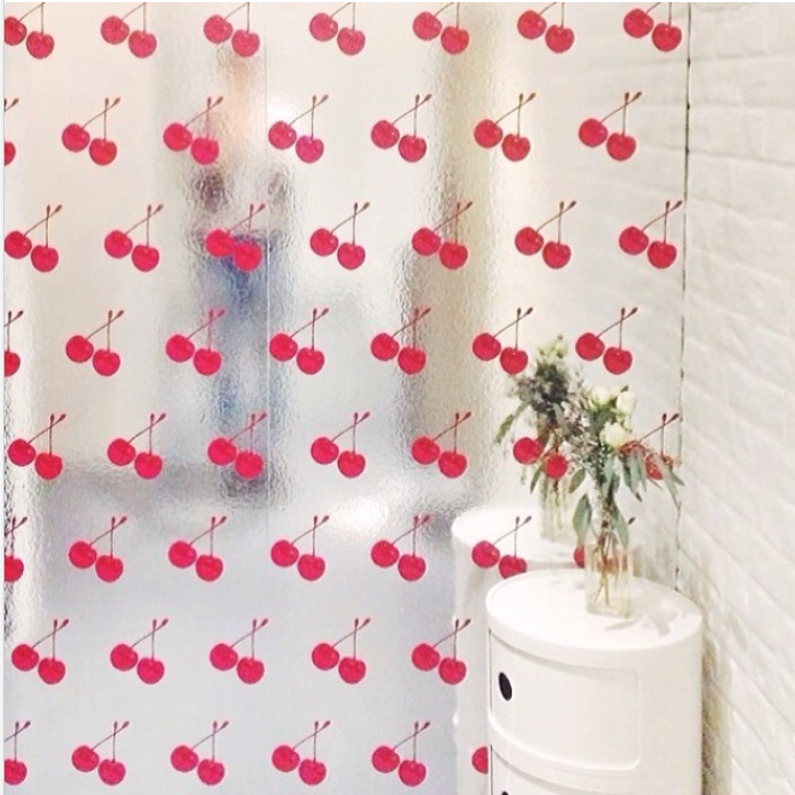 Cherry Scratch and Sniff Scented Wallpaper Petra, Chrome, Cherry, Prunus