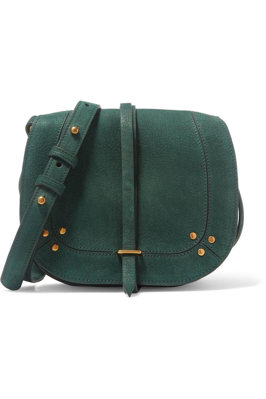 Jerome Dreyfuss Victor Embellished Suede Shoulder Bag Modesens Suede Purse Suede Handbags Embellished Purses