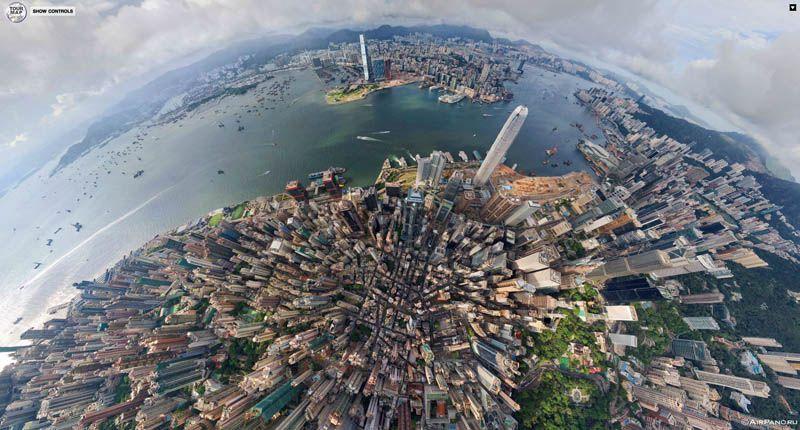 Top Ten 360 Panoramas Of Cities Around The World Panorama City Photo Site