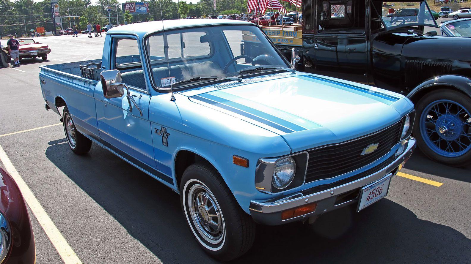 1980 Chevy Luv pickup | Chevrolet pickup | Pinterest | Chevrolet ...