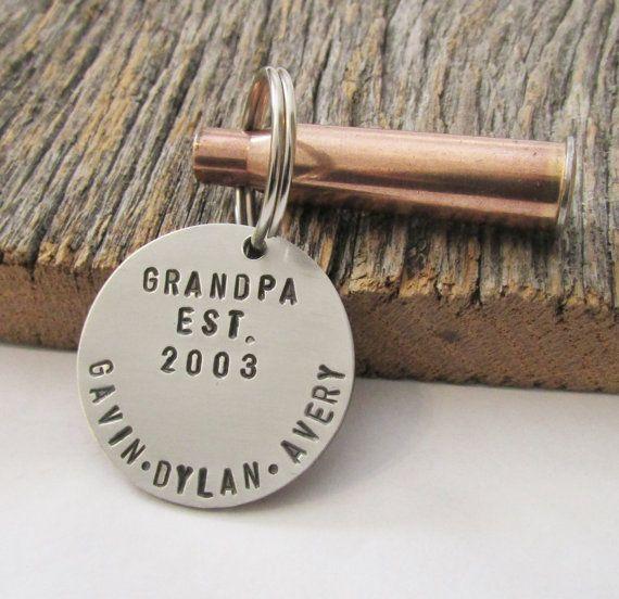 Christmas Gift Grandparent Keychain for New Grandparents Pregnancy ...