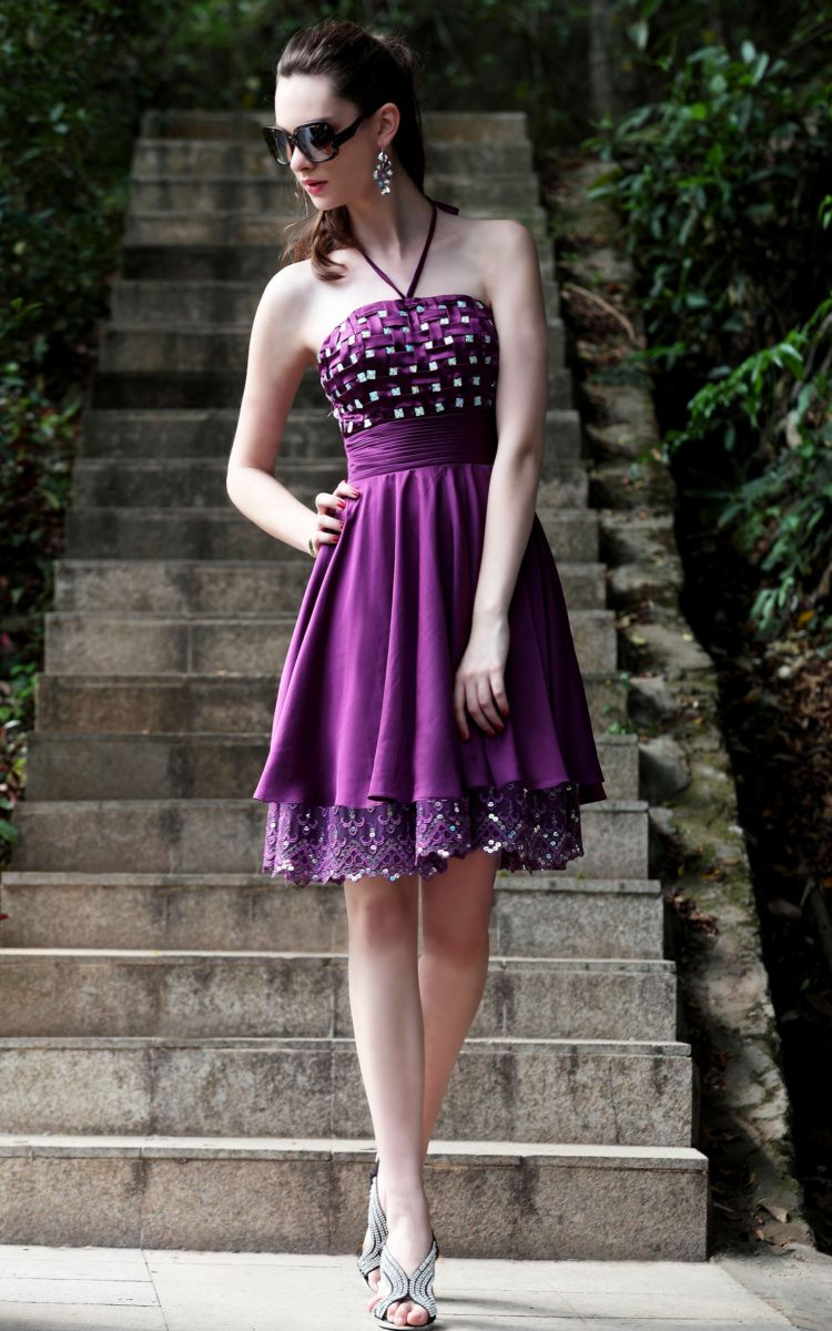 Short Purple Bridesmaid Dresses Uk Image collections - Braidsmaid ...