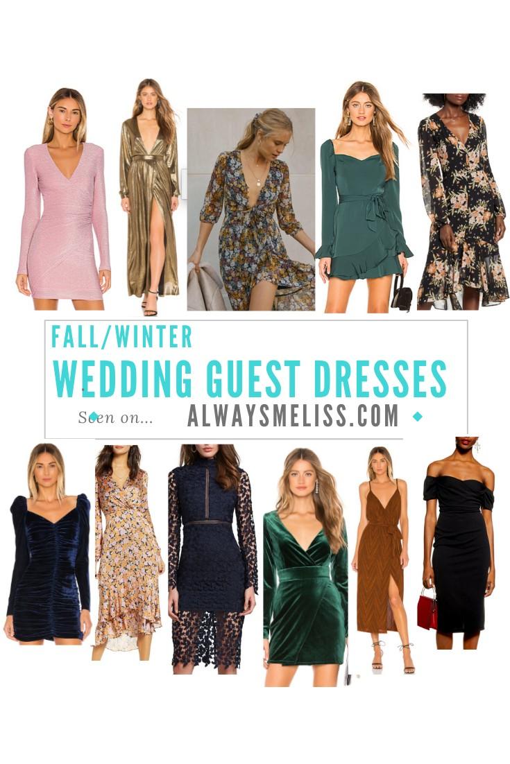 Fall/Winter Wedding Guest Dresses Under $100 – Always Meliss