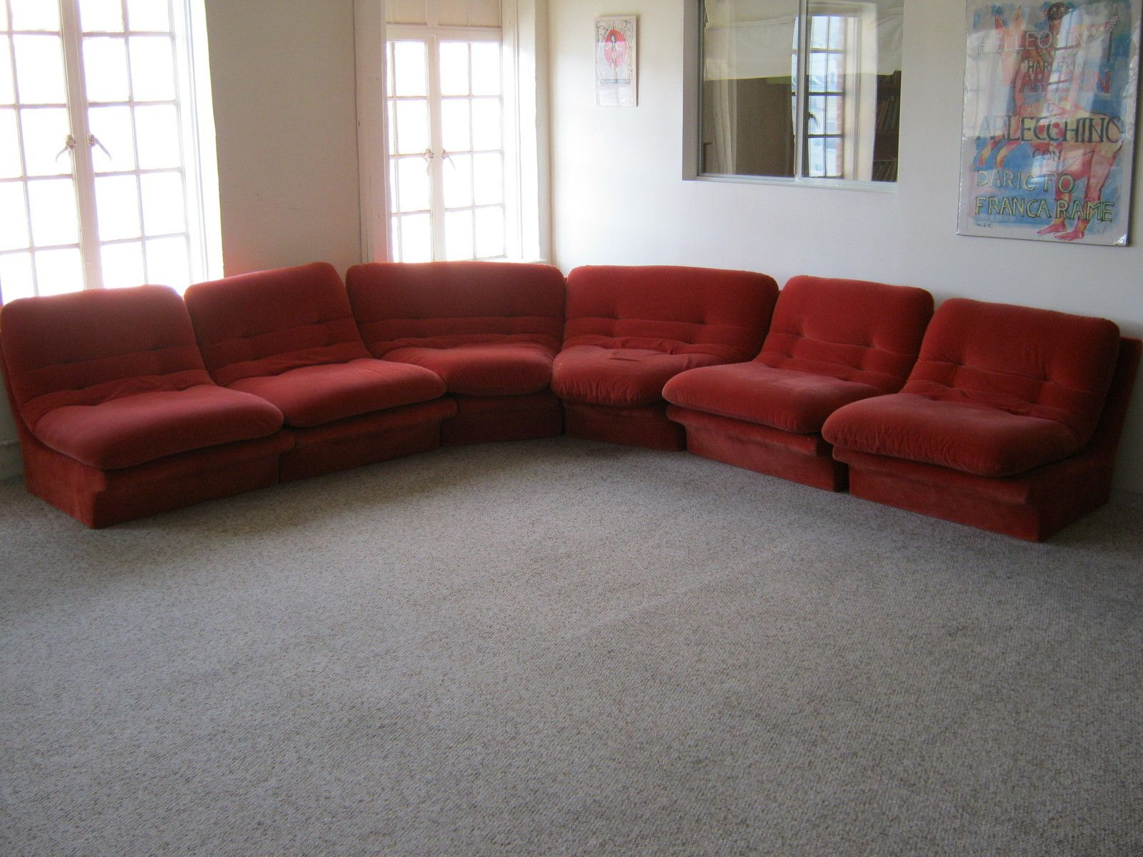 Vladimir Kagan ~ 6 PIECE SECTIONAL SOFA ~ Vintage 70s Mid-Century Modern ~ RARE : sectional sofa ebay - Sectionals, Sofas & Couches