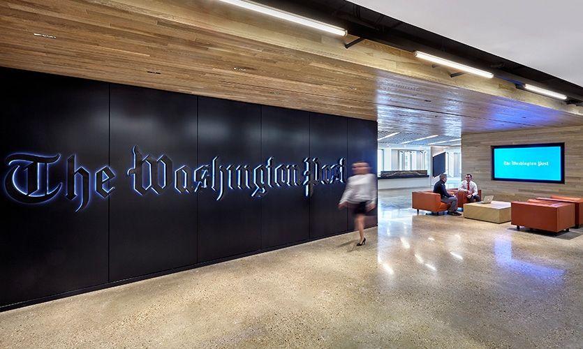The Washington Post 2017 SEGD Global Design Awards Merit Award