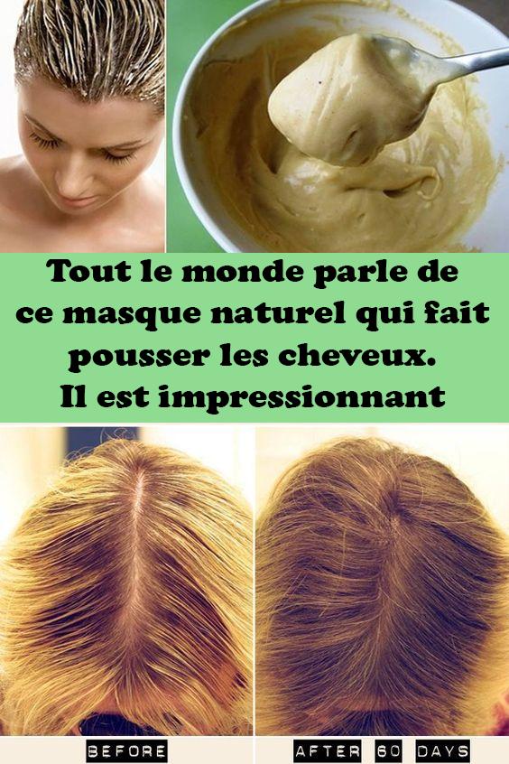 Masque Pour Faire Pousser Les Cheveux : masque, faire, pousser, cheveux, Monde, Parle, Masque, Naturel, Pousser, Cheveux., Impressionnant, Natural, Mask,, Styles