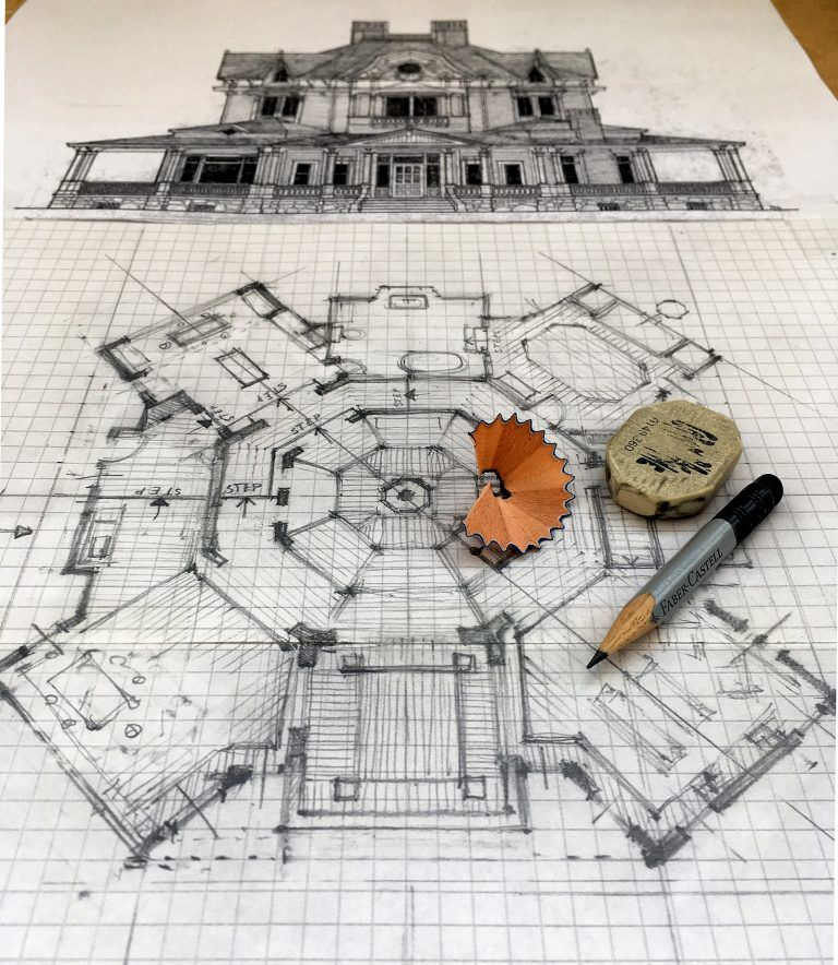 Want To See A Floor Plan In Progress For The Film Mother 2017 Now You Can Check Out Http Filmandfu Film Set Floor Plan Drawing Interior Design Sketches