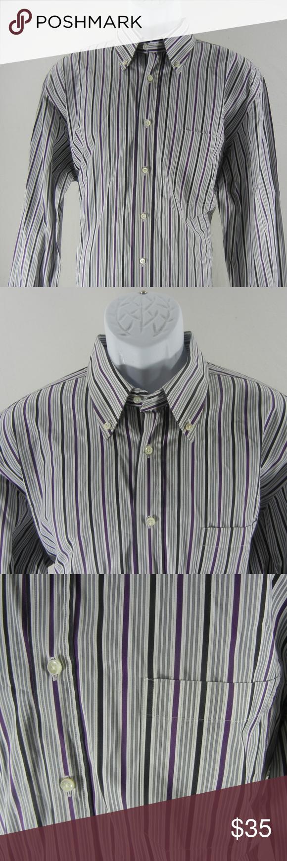 Mens Purple Striped Dress Shirts   Azərbaycan Dillər