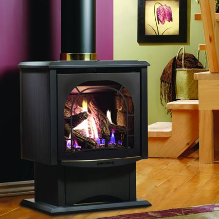 Kingsman FDV200 Free Standing Direct Vent Gas Stove ...