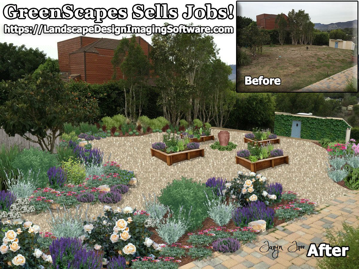 Greenscapes Landscapedesignsoftware Is Low Cost With High Results