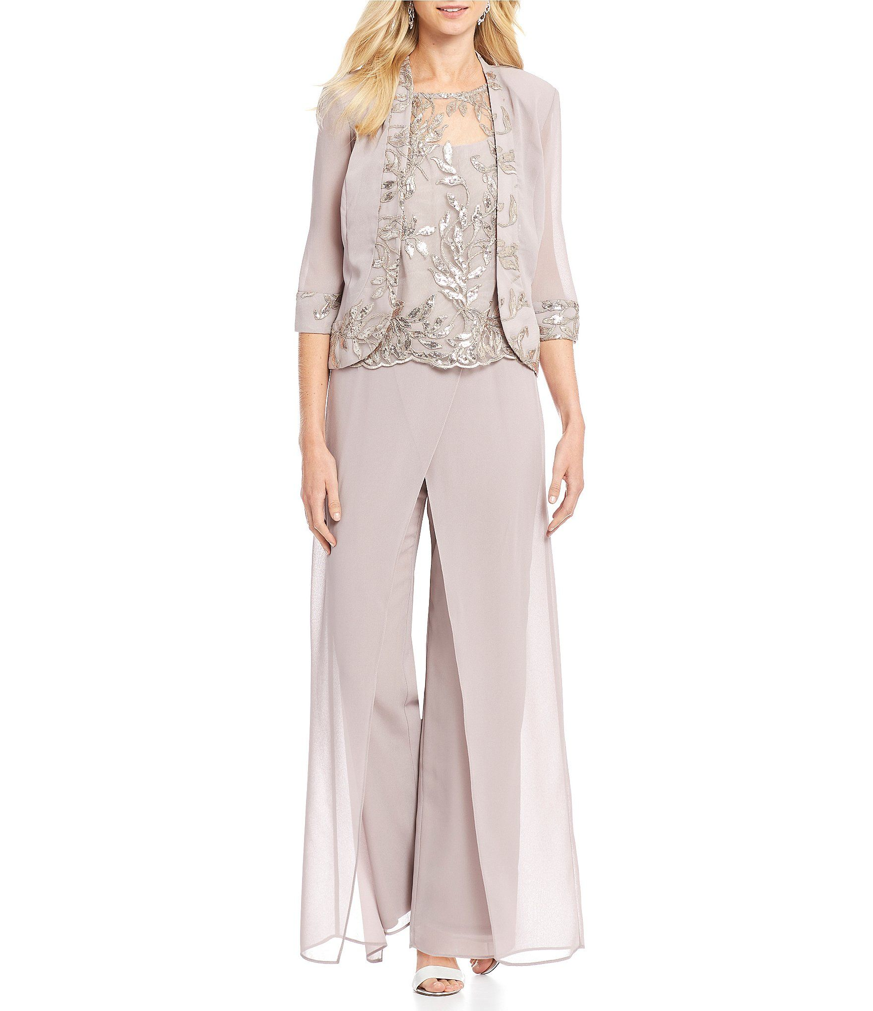 db76ec84732 Shop for Le Bos Embroidered Wrap 3-Piece Pant Set at Dillards.com. Visit  Dillards.com to find clothing