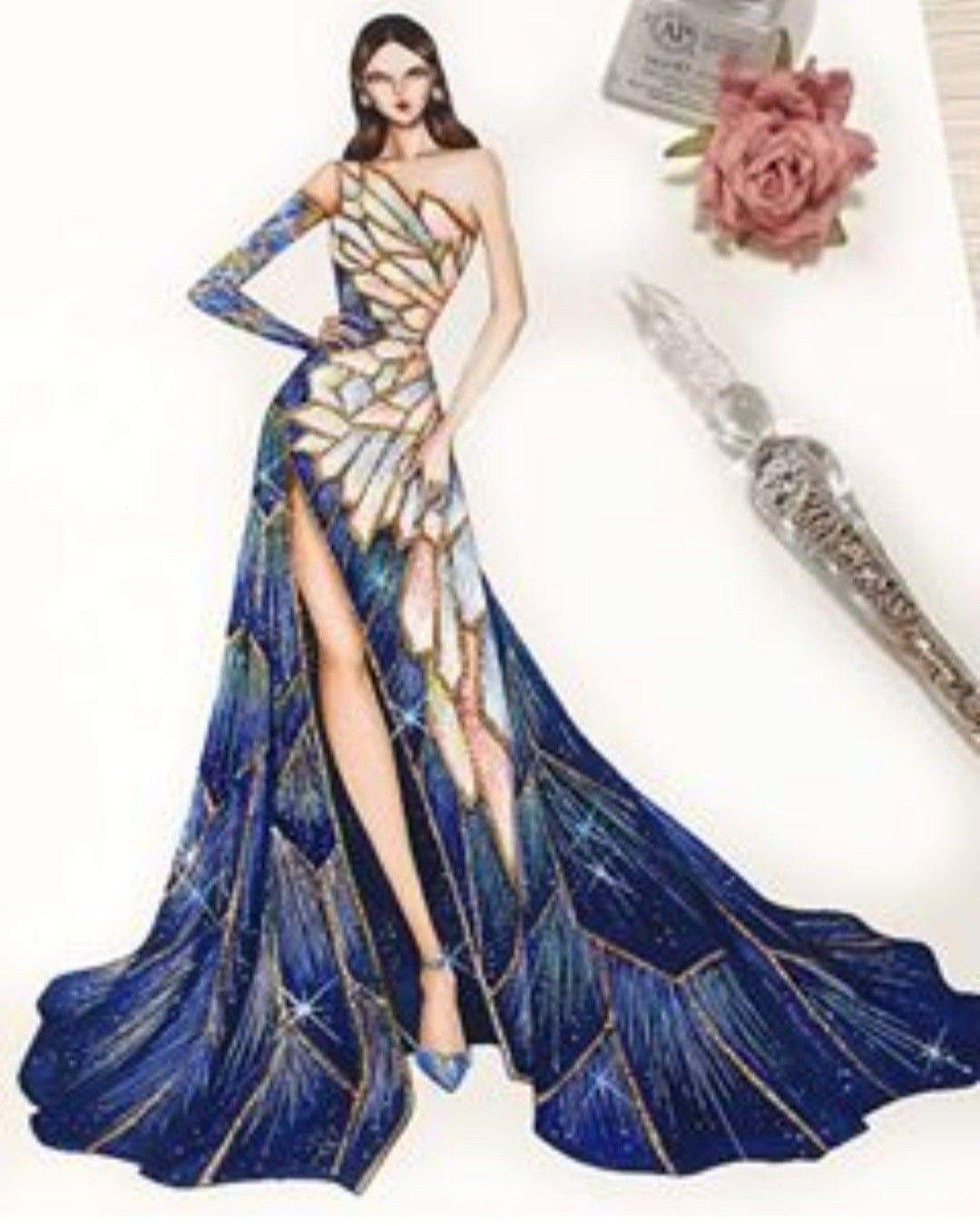 Pin By Dana Popovici On Women S Fashion Fashion Drawing Dresses Fashion Illustration Dresses Fashion Illustration Sketches Dresses