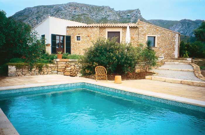 Kleine Finca Mallorca PM 444 Mit Pool Für 2   4 Personen Bei Colonia St.  UrlaubZukunftVermietungVillenProjekteSchwimmbäder