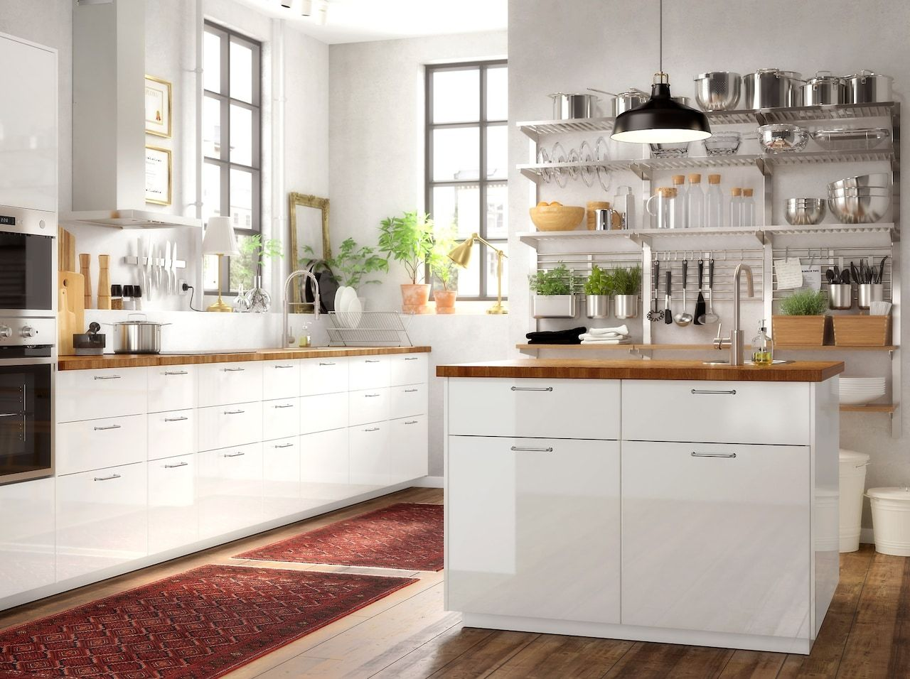 Quality And Style Recipe For Success In Your Kitchen Ikea Kitchen Inspiration Ikea Small Kitchen Kitchen Interior