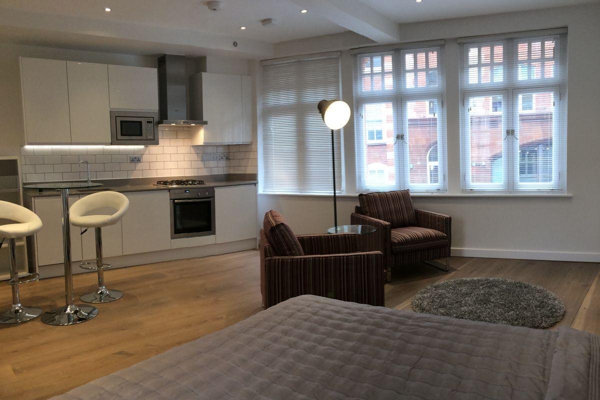 Studio, Rose Street Serviced Apartments, Covent Garden