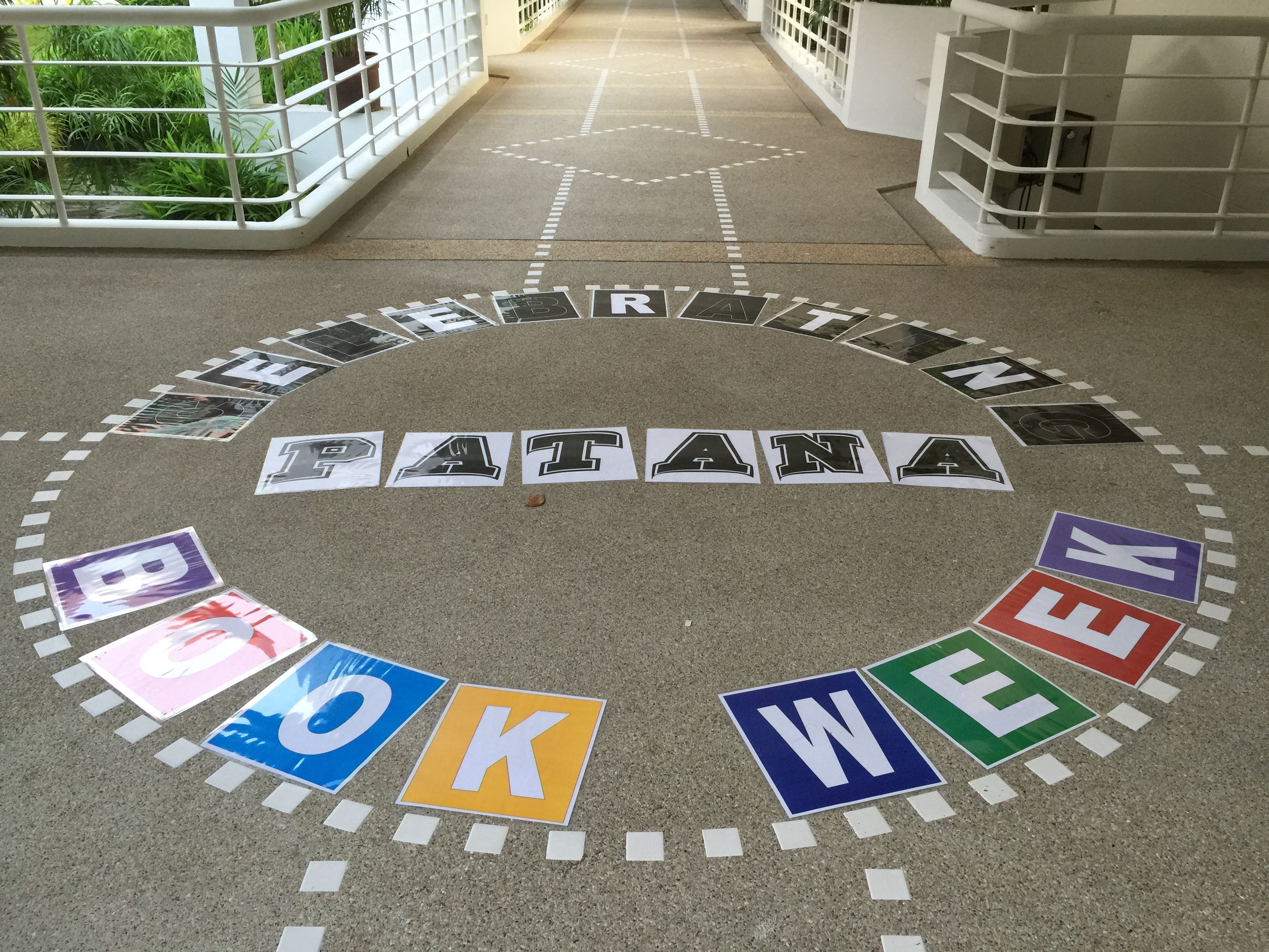 Floor Display - Patana Book Week