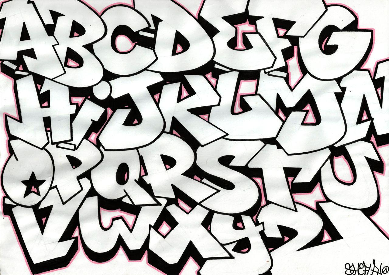 Alphabet graffiti - Sketch - Blog Lyonbombing  Graffiti lettering