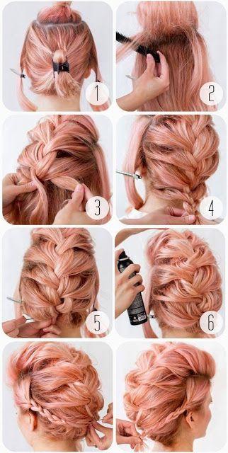 Cara Merias Rambut Pendek Rambut Panjang Tutorial Rambut