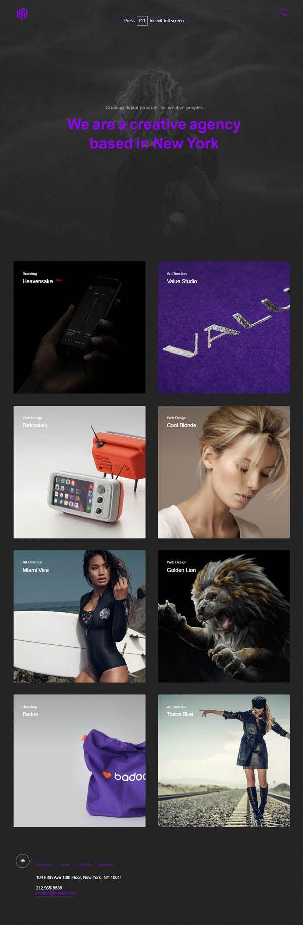 Cubez - Creative WordPress Showcase Portfolio Theme #HTML5CSS3 ...