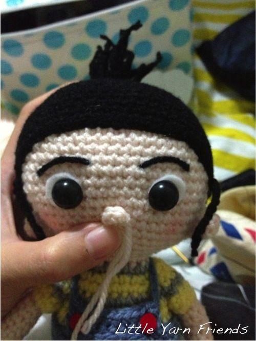 Free doll pattern | cute crochet | Pinterest | Puppe und Häkeln