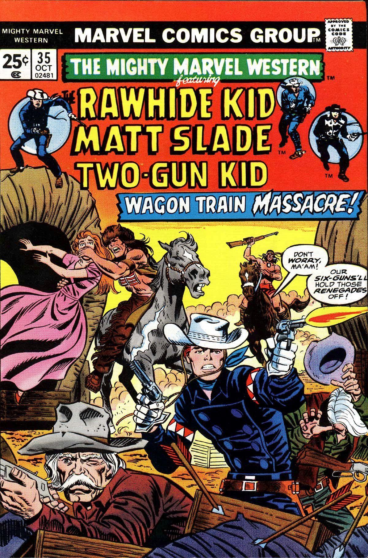 Mighty Marvel Western 35