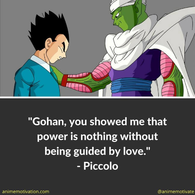 Piccolo To Gohan In DBGT - Great Quote #DBZ