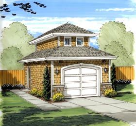 Best Mediterranean Traditional Garage Plan 41134 Roof Pitch 400 x 300