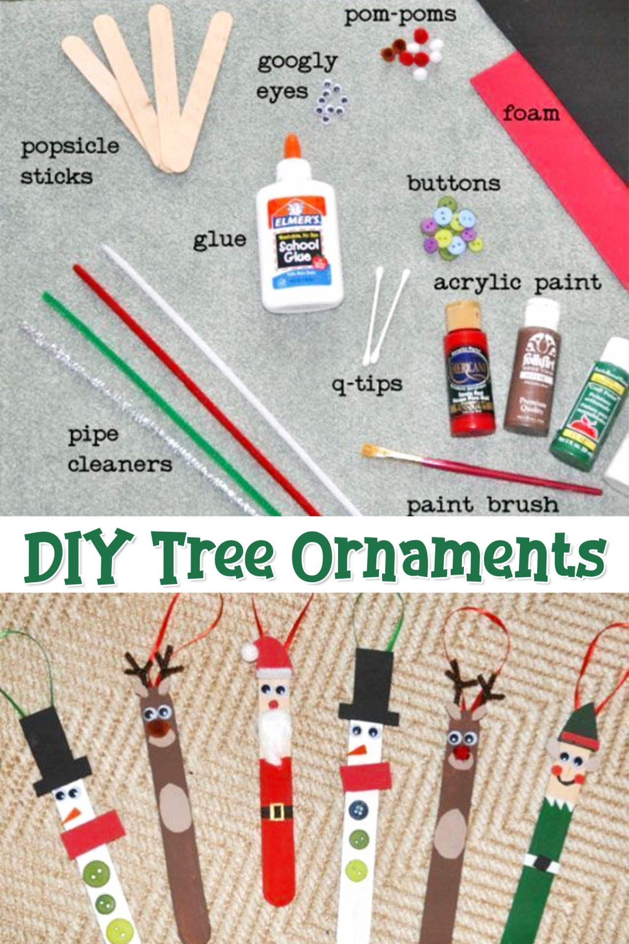 Photo of Popsicle Stick Christmas Crafts -See the DIY Holiday Ornaments Our Readers Made – Clever DIY Ideas