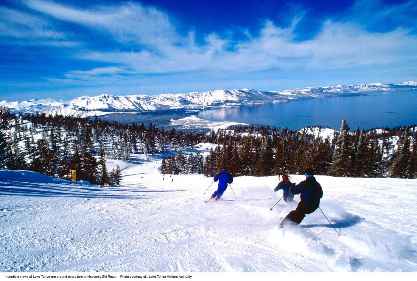 ski lake tahoe ~ yes, california has ski resorts too! | california
