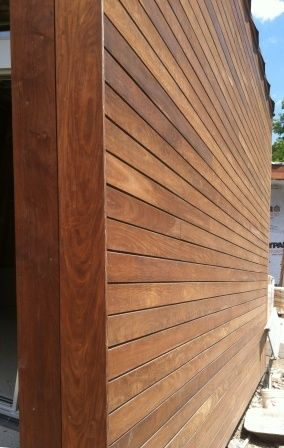 Ipe Siding In Climate Shield Rainscreen System Home In