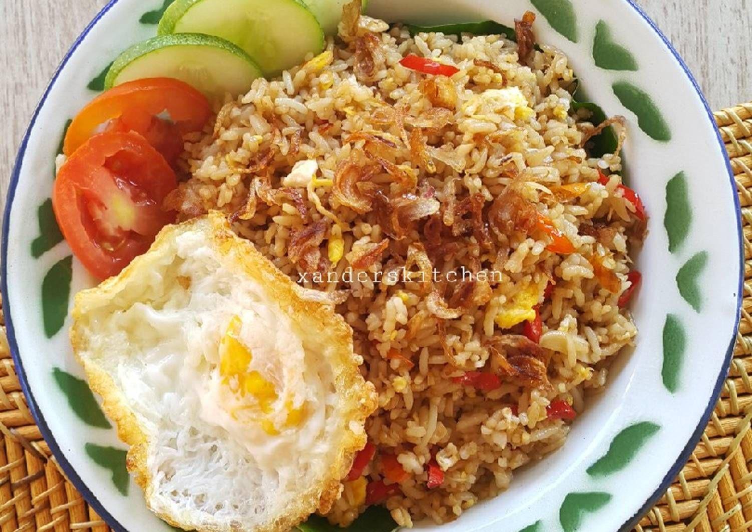Resep Nasi Goreng Kampung Oleh Xander S Kitchen Resep Resep Nasi Goreng Resep Nasi Resep Masakan Asia