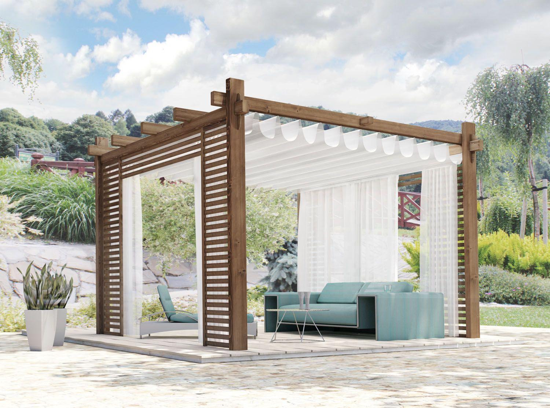 Kup Teraz Na Allegro Pl Za 8900 00 Zl Zadaszenie Tarasu Wiata Pergola Markiza 7769203766 Allegro Pl Radosc Za Modern Gazebo Pergola Outdoor Garden Rooms