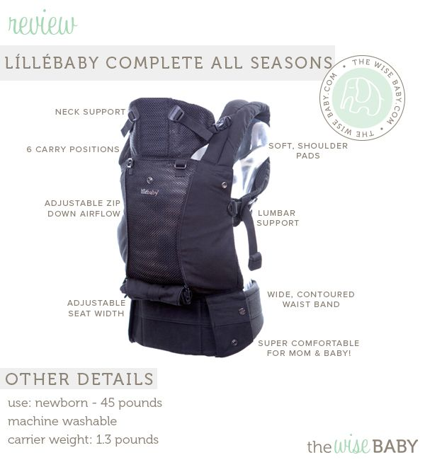 Lillebaby Complete All Seasons Baby Carrier Review Giveaway We