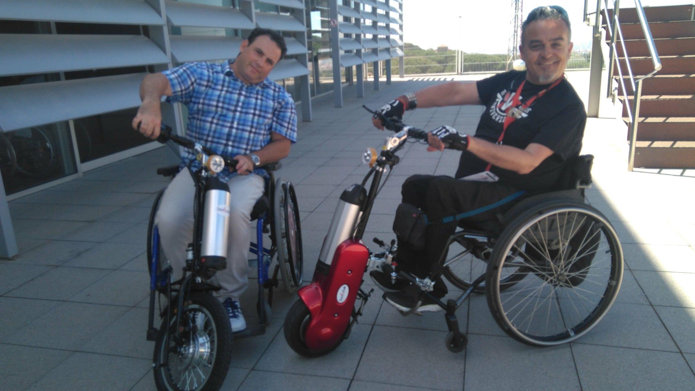 El mejor dispositivo de tracción para sillas de ruedas, con la tecnología más nueva al mejor precio del mercado.