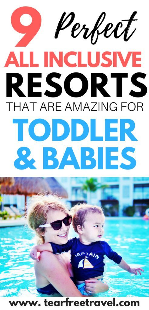 Amazing All Inclusive Resorts for Kids #vacationlooks