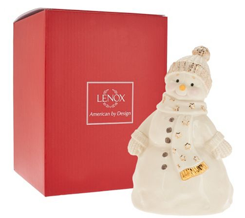 """Lenox 7.25"""" Recordable Porcelain Figurine with Gift Box — QVC.com"""