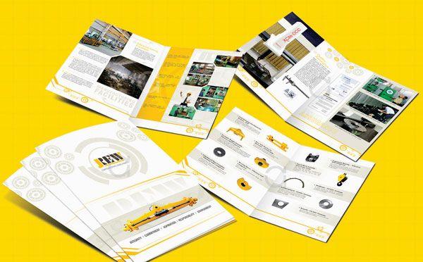 Beautiful Corporate Brochure Design Ideas  Examples  Corporate