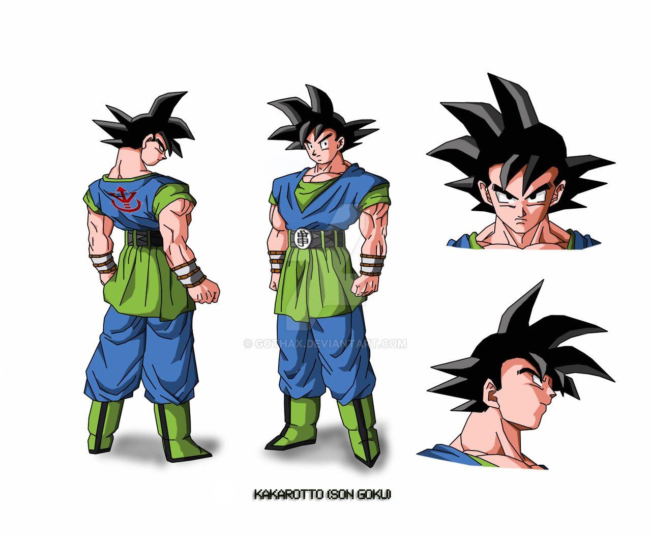 Goku AF by Gothax on @DeviantArt   Goku   Pinterest   Goku, Dragon ...
