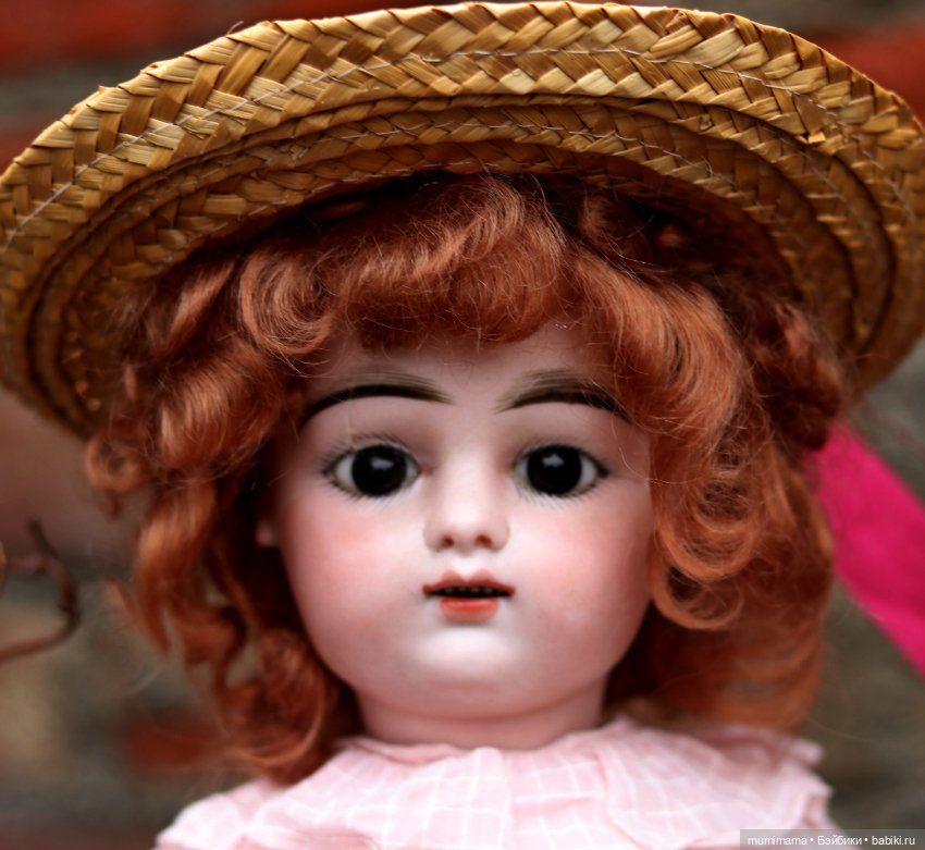 Очаровательная конфетка антикварная французская кукла ...
