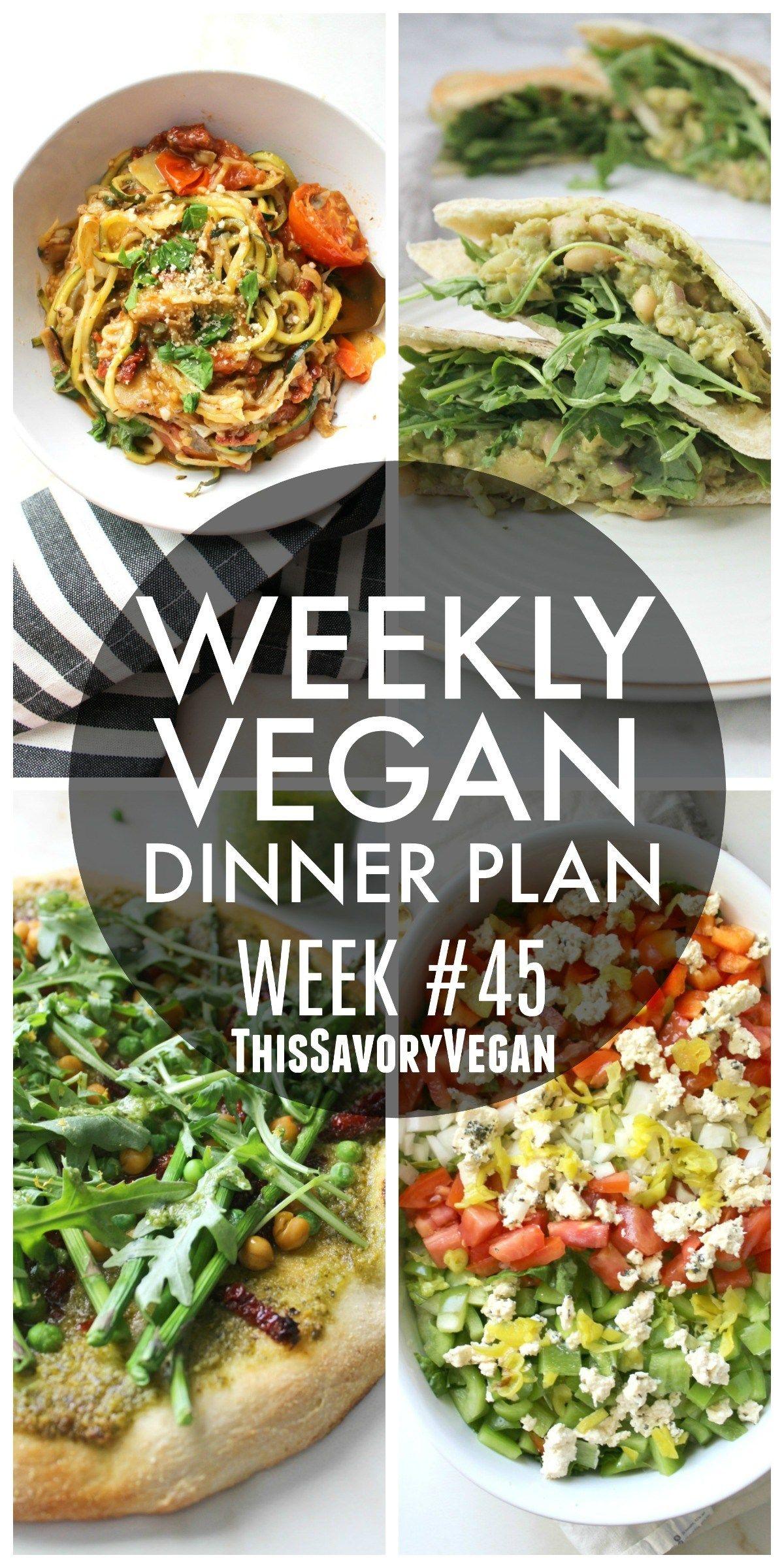 Wöchentliche vegane Diät Gewichtsverlust