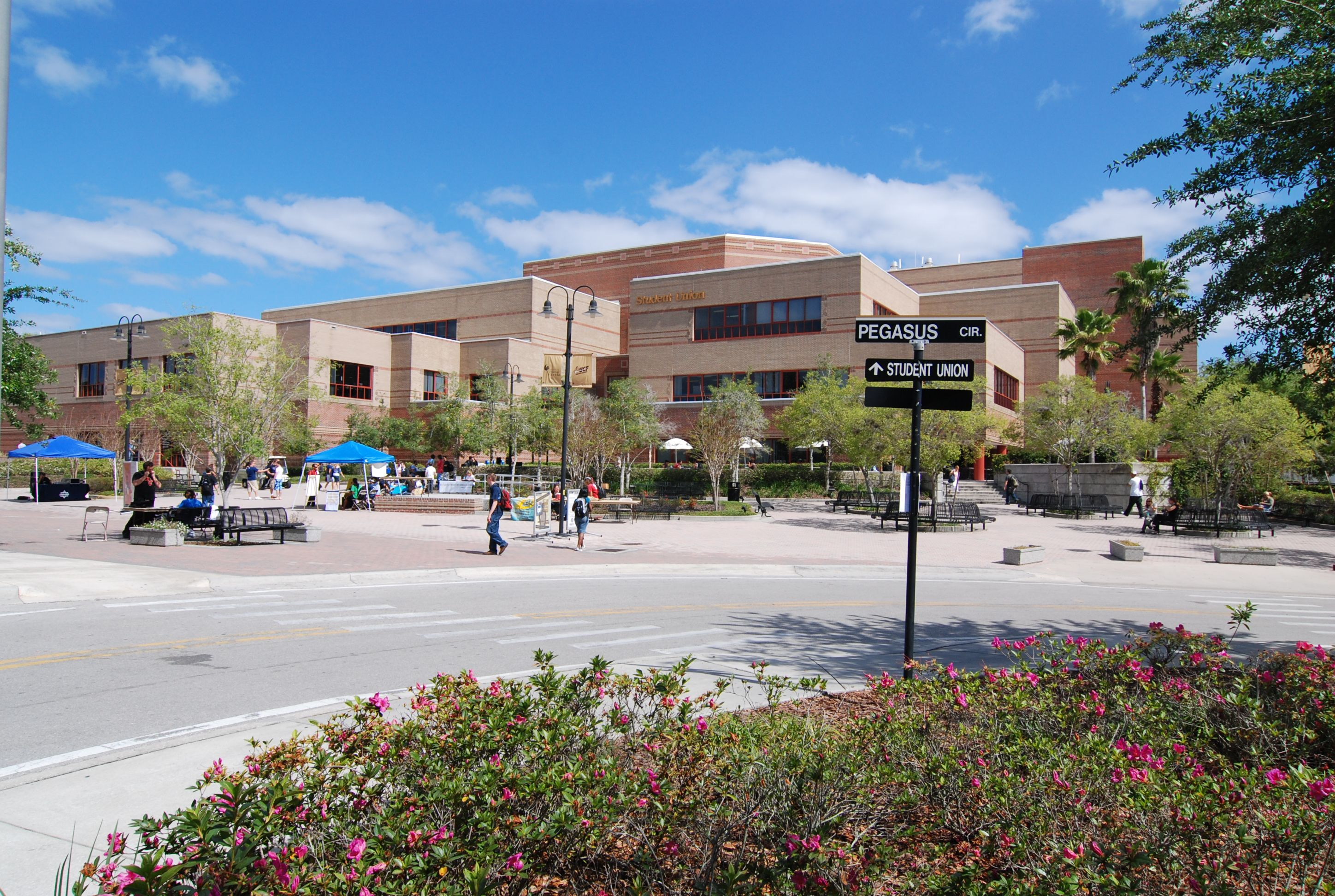 Universities In Florida Map.Student Union On The Ucf Campus University Of Central Florida