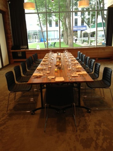 Atrium Dining Room During Lunch Service. Catalyst Restaurant